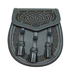 Buy customised laser etched leather scottish sporrans online