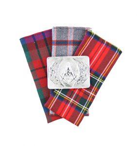 Masonic Pewter Buckle 10