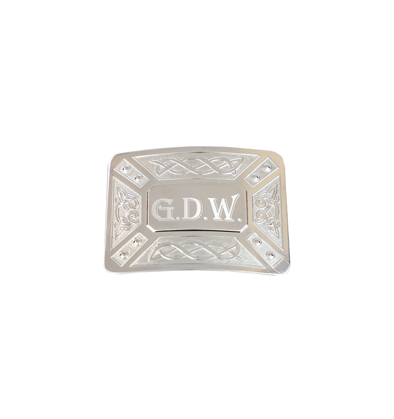 mm buckle engraved